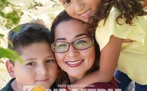 Yeni disfruta del amor de sus hijos