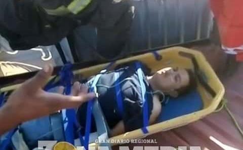 EMPLEADO SUFRIÓ DESCARGA ELÉCTRICA