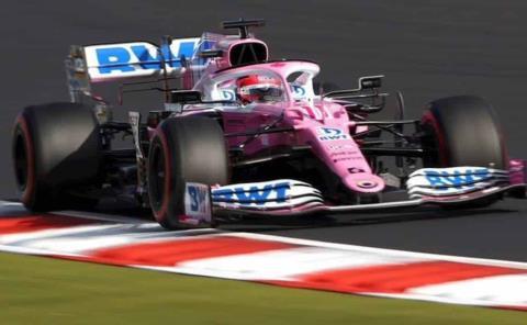 Checo Pérez roza nuevamente el podio
