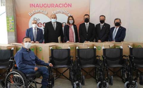 Fuerte apoyo a discapacitados