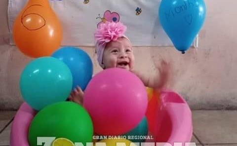 6 meses cumplió la nena Eileen