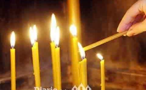 Piden no dejar  velas encendidas
