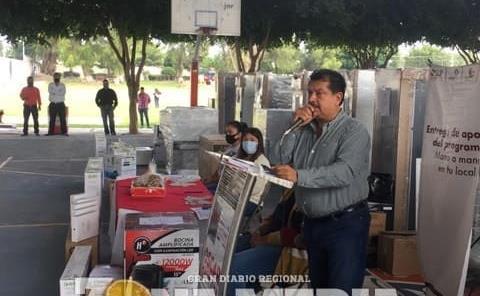 Óscar Bautista V. atestiguó apoyo