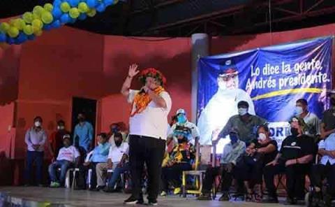 Andrés será el presidente