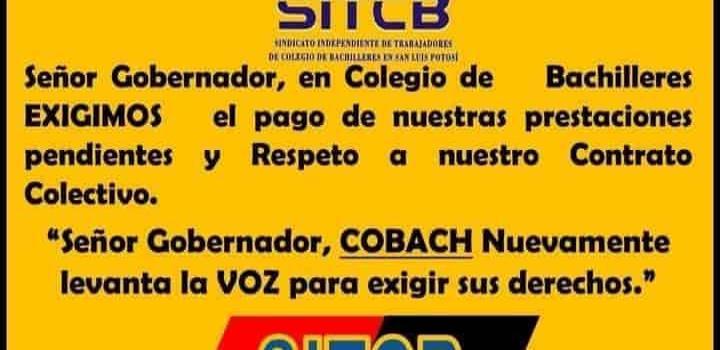 Normaliza labores  Cobach plantel 22