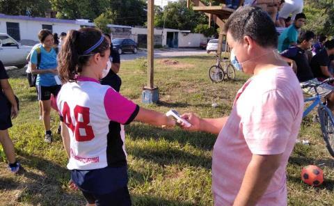 Convivencia deportiva en el Día del Azucarero