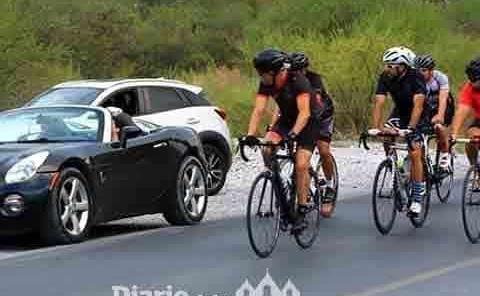 Ciclista huasteco subió al pódium