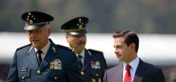 Cae en EUA por narco ex titular de SEDENA