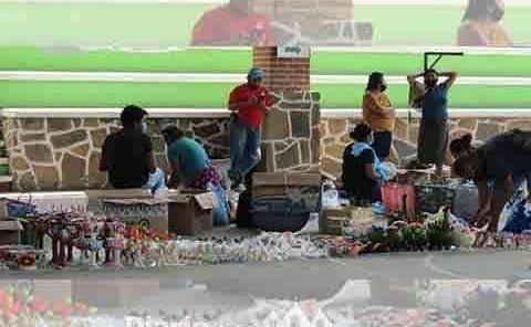 Inicia la venta de artesanías