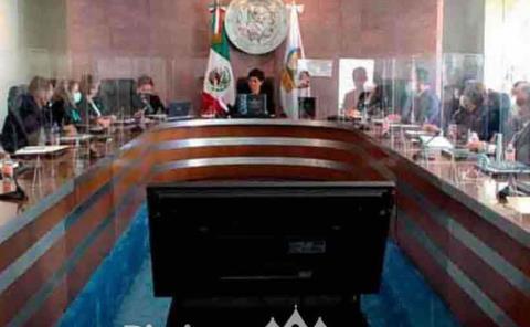 Magistrada da el informe final del poder judicial