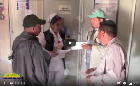 Capacitan a personal del Hospital General