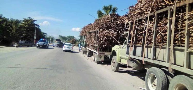 """Camiones cañeros son """"grave peligro"""""""