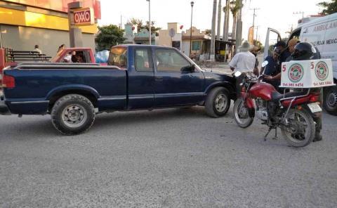 Chocó camioneta en la México-Laredo