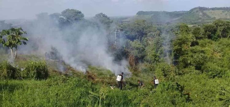 Incendiaron el basurero