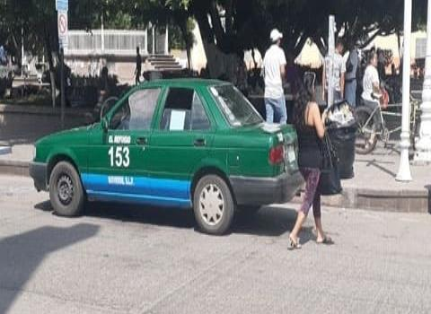 Taxistas sin cultura vial