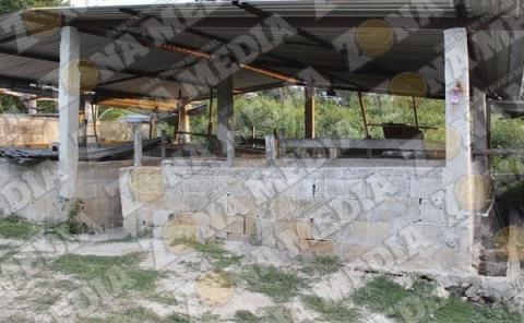 17 ranchos saqueados
