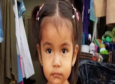 La nena Amaya cumplió 2 años