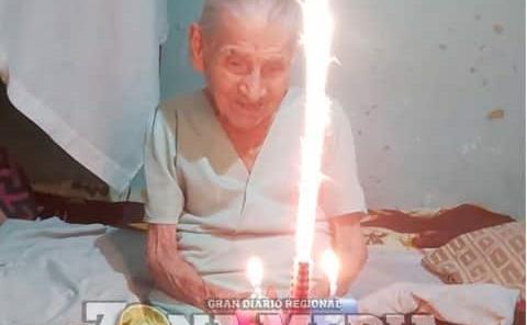 La Sra. Martina cumplió 95 años