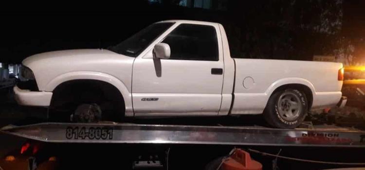 Recuperó la Estatal 4 vehículos robados