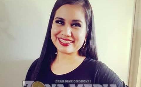 Adriana Chávez celebró su fecha