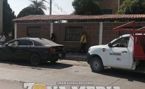 MUJER PROTAGONIZÓ APARATOSO CHOQUE