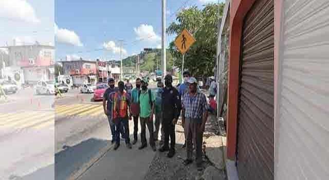 Seguridad en las zonas peatonales