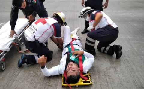 Enfermero lesionado