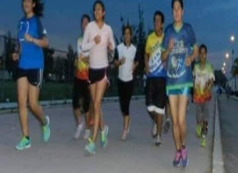 Bulevar Ferrocarrilero como pista de atletismo