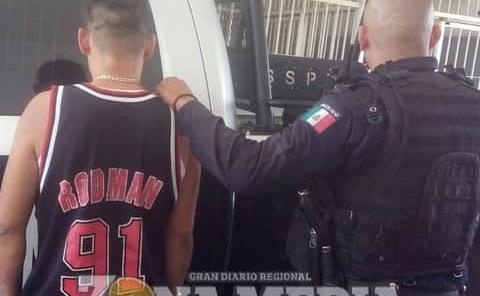 2 infractores detenidos