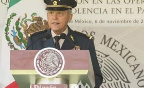 Autorizan retirar los cargos contra Salvador Cienfuegos