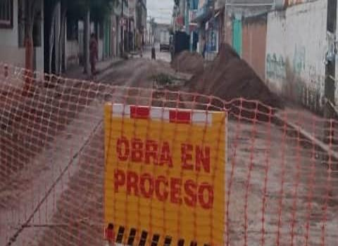 Precaución vial por varias obras