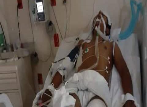 Juarense sufrió fuerte accidente