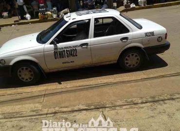 Taxistas con bajos ingresos