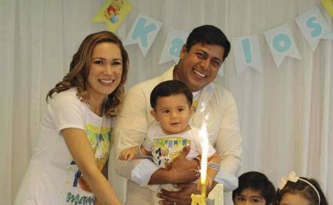 Primer aniversario de Karlos Saíd Martínez