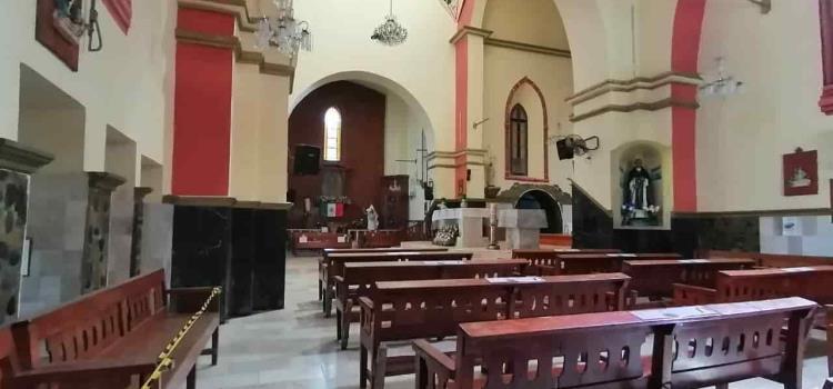 Restringen entradas en la iglesia
