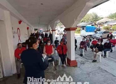 Ayuntamiento se solidariza por VIH