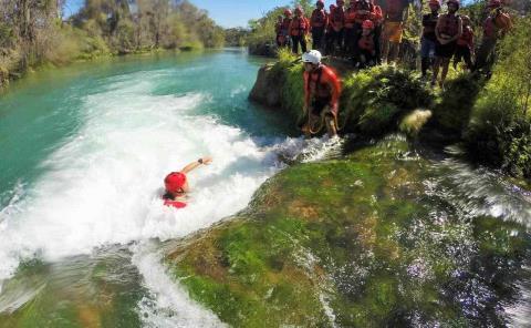 Capacitarán a 'guías' sobre rescate en ríos
