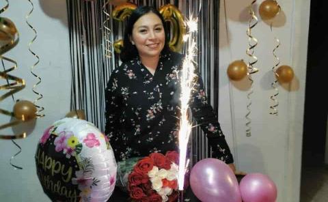 Anna Karen celebró en San Luis Potos