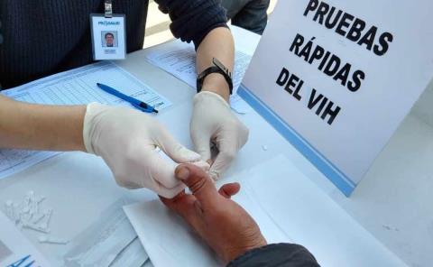 13 mil pruebas de VIH – Sida