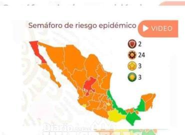 Veracruz pasó a semáforo verde