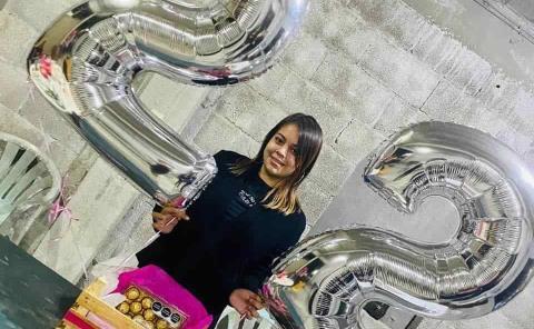 22 años cumplió Lisbet Rodríguez