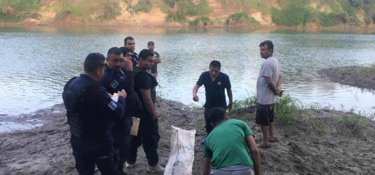 Menor se ahogó en el río Moctezuma