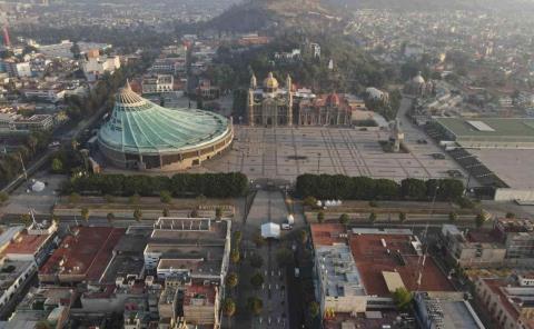 Basílica vacía muestra la