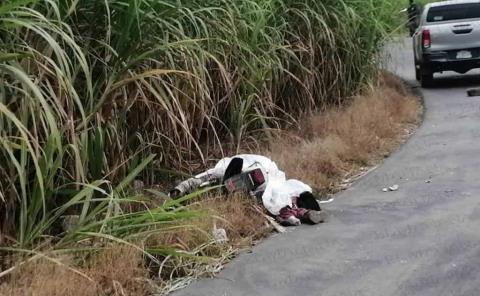 Motociclista Muerto al chocar contra Camión