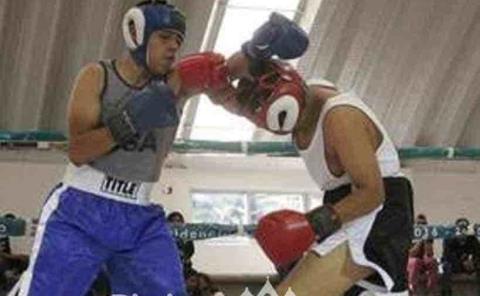 Actividad boxística en el margen del olvido