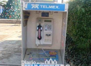 Piden retirar casetas telefónicas inservibles