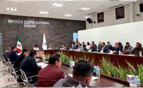 IEEH ratifica consejeros  para Proceso Electoral