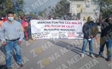 Protestan contra Gobierno de AMLO