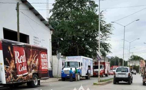 Camiones causan varios problemas