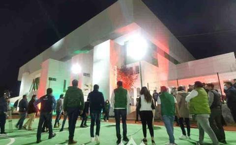 Inaugura Fayad Centro  de Alto Rendimiento